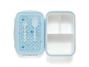 bento lunchbox drops blue lb19 4 4