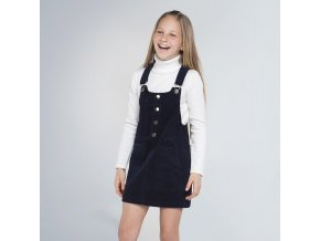 Mayoral dívčí  sukně s náprsenkou 7955-090