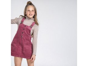 Mayoral dívčí  sukně s náprsenkou 7955-091