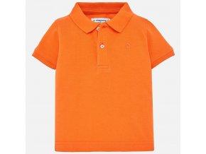 Mayoral chlapecké polo triko oranžové 102-58