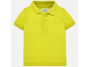 Mayoral chlapecké polo triko žlutá 102-60