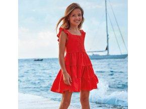 Mayoral dívčí šaty 6973