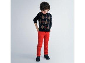 Mayoral chlapecké kalhoty s pěti kapsami 41-011
