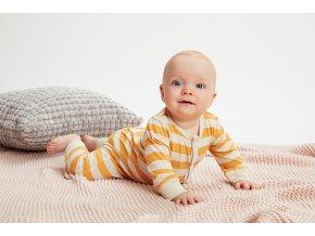 CeLaVi dětské vlněné overalové pyžamo 330319-3720