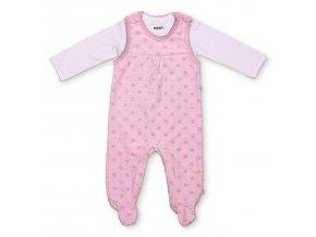 Pippi novorozenecké dívčí set GOTS 4624-520