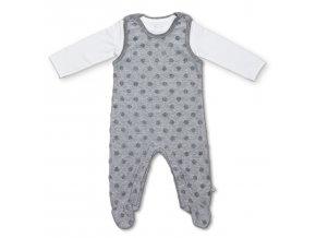Pippi novorozenecký dětský set GOTS 4624-100