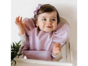 Snuggle voděodolný bryndák Lavender