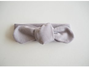 Snuggle čelenka šedá