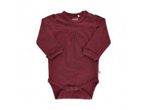 Minymo novorozenecké dívčí body s dlouhým rukávem 111307-4524