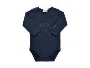 Minymo novorozenecké chlapecké body s dlouhým rukávem  111355-7850