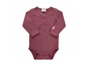 Minymo novorozenecké dívčí  body s dlouhým rukávem  111355-4418