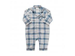 Minymo novorozenecké chlapecké overalové pyžamo 111412-7922