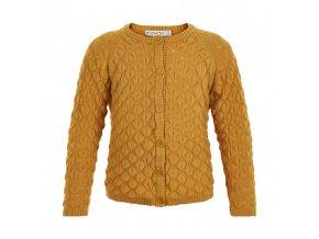 Minymo  dívčí pletený svetr 121368-3139