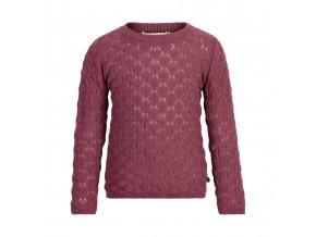 Minymo  dívčí pletený svetr 121369-4418