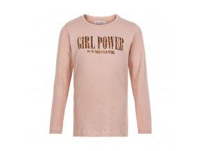 Minymo  dívčí triko s dlouhým rukávem 141306-5506