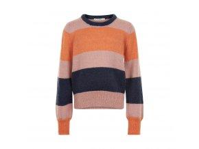 Minymo  dívčí pletený svetr 141311-5506