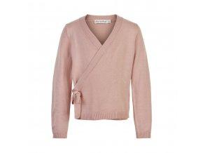 Minymo  dívčí pletený svetr 141318-5506