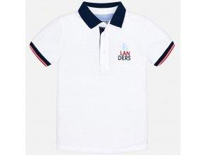 Mayoral chlapecké polo tričko oranžové 3113_073