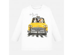 Mayoral chlapecké tričko taxi s dlouhým rukávem 2020_092