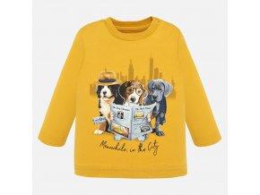 Mayoral chlapecké tričko s dlouhým rukávem 2022