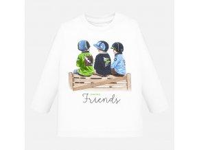 Mayoral chlapecké tričko přátelé s dlouhým rukávem 2024