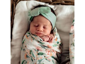 Novorozenecká čelenka Sage