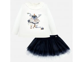 Mayoral dívčí set se sukní 2936
