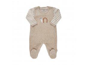 Fixoni novorozenecký set-body s dlouhým rukávem a dupaček 422001-2601