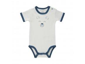 Fixoni novorozenecké body krátký rukáv 422005-7337