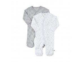 Pippi novorozenecký dětský overal set 2 ks 3821-190