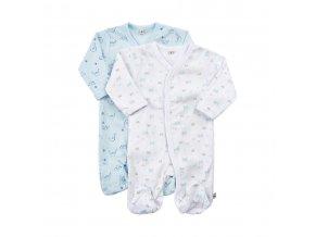 Pippi novorozenecký dětský overal set 2 ks 3821-701
