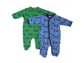 Pippi novorozenecký dětský overal set 2 ks 3821-778