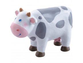 302979 zvieratko ohybna figurka krava little friends haba