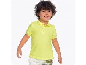 Mayoral chlapecké polo triko žlutá 150_10