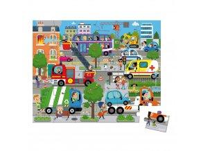 J02659 Janod puzzle mesto 36 ks 01