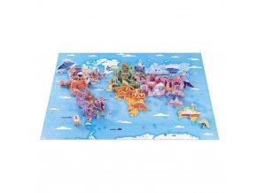 J02677 Janod vzdelavacie puzzle zaujimavosti sveta 350 ks 01