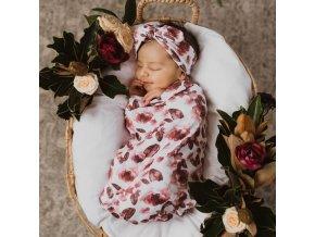Bavlněný spací pytel Fleur