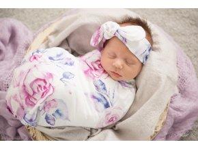 Bavlněný spací pytel Lilac Skies