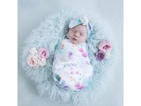 Bavlněný spací pytel Sweet Petal