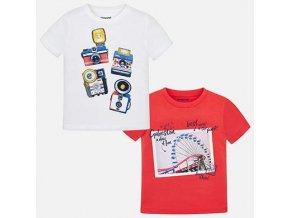 Mayoral chlapecké tričko 2ks 3044