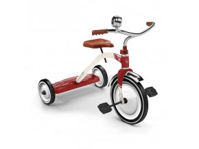 vintage red tricycle