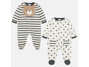 Mayoral dívčí dupačky / pyžama set 2726