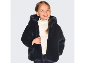 Mayoral oboustranný dívčí kabát 4422