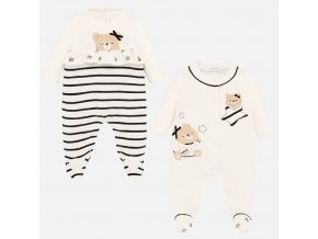 Mayoral dívčí dupačky / pyžama set 2711