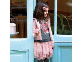 Mayoral dívčí mikina se sukní 4951