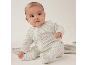 organic cotton bamboo baby stripey zipup sleepsuit new grey stripe core 127 1x1 1a9f23e4 e665 4b58 9dfb e5fb6c169433 grande
