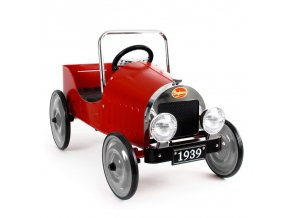 classic pedal car red
