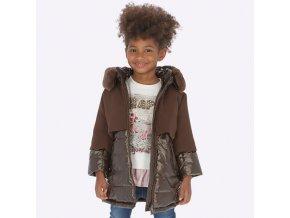 Mayoral dívčí kabát 4419 hnědá