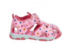 Color Kids dětské dívčí sandálky 760029 - 4173