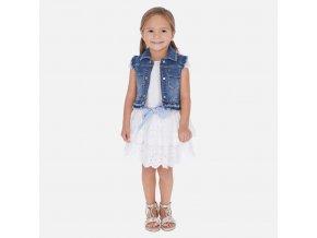 Mayoral dívčí lněná sukně 3905_038